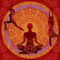 Yoga and Meditation With Antique Singing Bowls