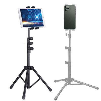 2 in1 Universal Portable Live Phone Table Tripod Stand Holder for iPad iPhone