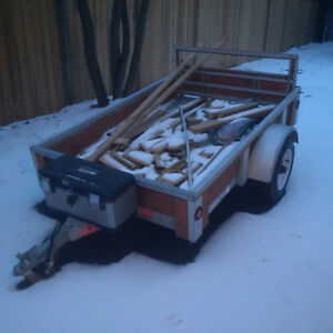 4 x 6 galvanized utility trailer for sale