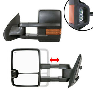 NEW Towing Mirrors for 2003-18 Chevy Silverado / GMC Sierra