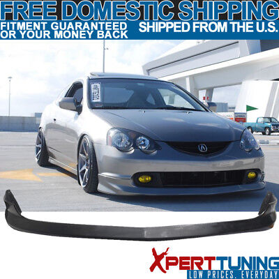 Fits 02 03 04 Acura RSX DC5 AS Poly Urethane PU Front Bumper Lip Spoiler Bodykit
