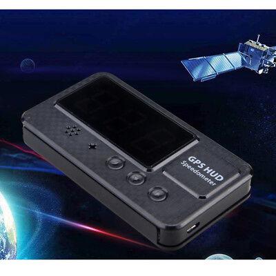 Auto GPS HUD Head Up Display Tachometer Geschwindigkeit Speed Warning KM/h MPH