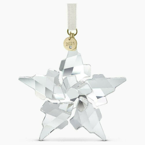Swarovski Crystal 2021 ANNUAL EDITION LARGE CHRISTMAS ORNAMENT 5557796 NIB