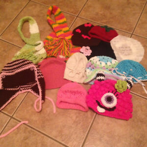 Baby Hats/Accessories, Knitted etc, Very Cute! $25