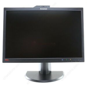 """Lenovo 22"""" Widescreen LED Monitor with Built-in Webcam and Mic"""