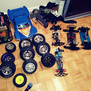 RC lot bodies, rims tires some new some used body some new