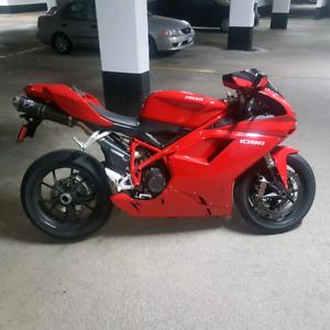 Ducati 1098 in showroom condition