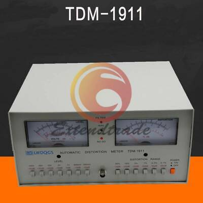 New Tdm-1911 Automatic Audio Signal Distortion Analyzer Meter Voltmeter Tester