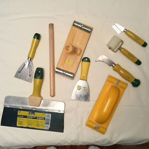 Gyproc/Wallpaper Installation Tools