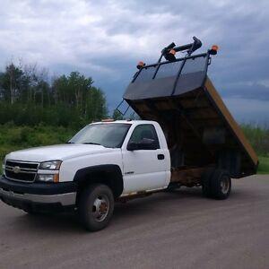 2006 Chevy 3500 Flat Deck Dump Box