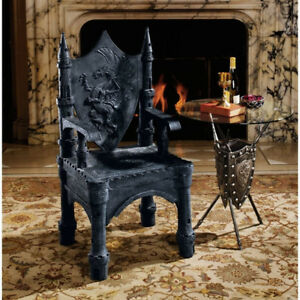 Dragon of Upminster Castle Throne Chair -NEW - ($1500 Value)