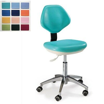 Dental Mobile Chair Medical Dentists Chair Doctors Stool Pu Leather Hs-3