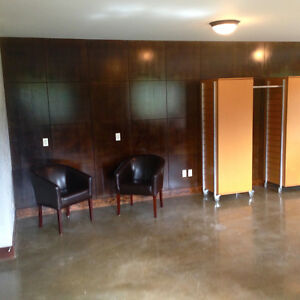 [professional open space office to rent / lease