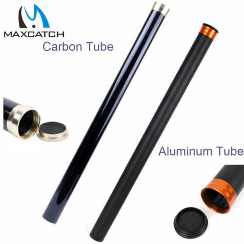Maxcatch Carbon Fiber Rod Tube Case with Aluminum Cap – fits Any 9ft/10ft 4pcs