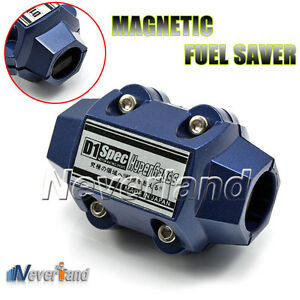 Universal Magnetic Gas Oil fuel fuelsaver saver Performance Trucks Cars Blue New