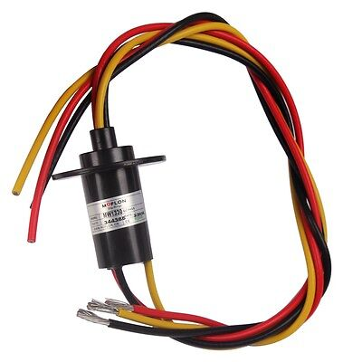 Heavy 3 Phase 30a 3 Wires 600vdcvac Wind Generator Slip Ring For Wind Turbine