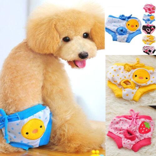 Pet Clothes Washable Female Dog Diapers Underwear Pants Phys