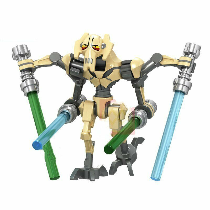 GENERAL GRIEVOUS STAR WARS MINIFIGURE FIGURE USA SELLER NEW IN PACKAGE