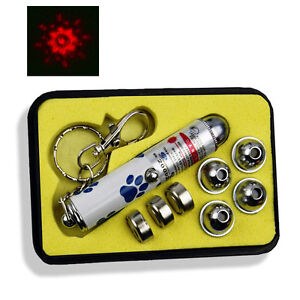Mini Laser Pointer with 5 Heads - Great Cat & Dog Toy