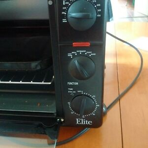 Elite Toaster Oven - Used Twice!