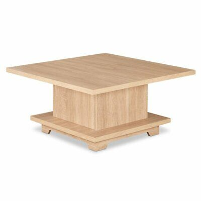 Acme Oak Coffee Table (ACME Tally Square Coffee Table in Weathered)
