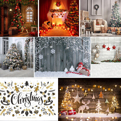 Christmas Photography Backdrops Winter Snow Baby Newborn Backgrounds 6x9/10x10ft ()