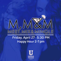 MEET, MIX, & MINGLE