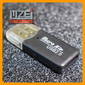 Micro SD to USB 2.0  (Card reader) Very Light and small in size