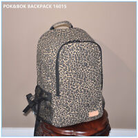 2 pcs Nice Backpack with leopard print TOP QUALITY MADE