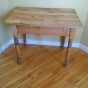 Antique Refinished Pine Table