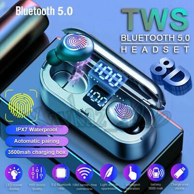 TWS Auriculares Bluetooth 5.0 LED Inalámbricos Display Para Apple Xiaomi Huawei