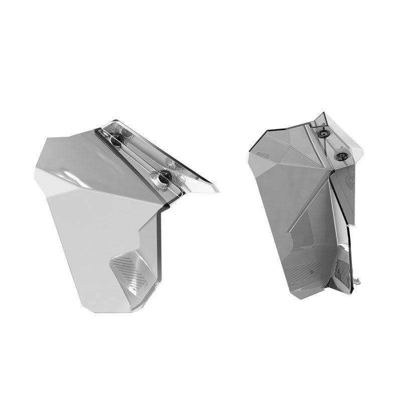 SKI-DOO WINDSHIELD SIDE AIR DEFLECTOR KIT 860200912 MEDIUM & HIGH