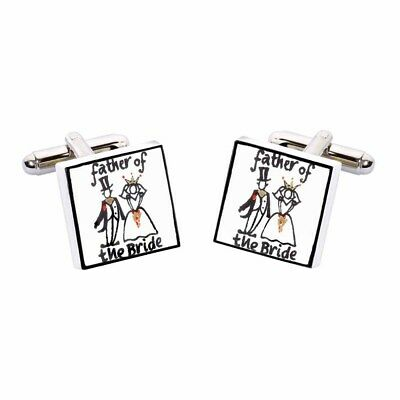 Sonia Spencer Brother of the Groom Wedding Cufflinks, Wedding Party, RRP £27