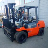TOYOTA dual tire Forklift
