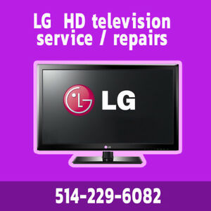 TV service LG Samsung Panasonic Toshiba Sharp