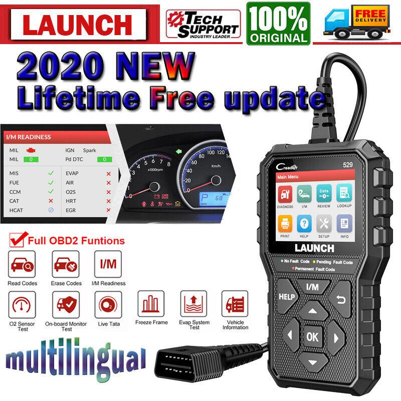 Auto OBD2 Car Fault Code Reader Diagnostic Scanner Tool Check Engine Light I/M