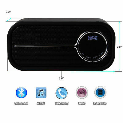 Portable Bluetooth Wireless Speaker Stereo Boombox for iPhone Samsung Tablet PC on Rummage