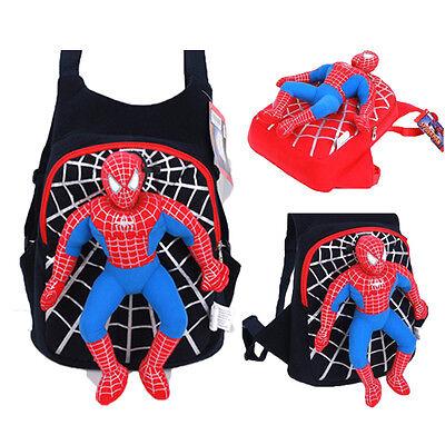 Hot 3D Spiderman School Bag Backpack Shoulder Bags For Boys Kids Children Gifts - Bags For Kids