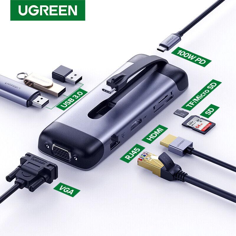 Ugreen USB C HUB Portable Type C to Multi USB 3.0 HUB HDMI A
