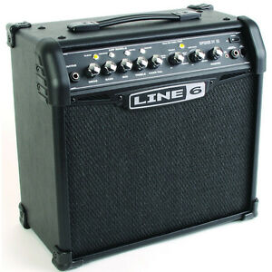 Line 6 Spider IV 15 15-Watt 1 x 8 Modeling Guitar Amplifier