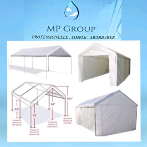 FREE QUOTE!!! Tempo dissembly/Démontage/Abri d'auto/Car shelter