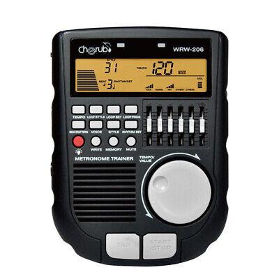 Cherub WRW-206 Compact User-Friendly Drum Trainer Metronome