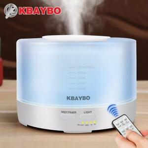 KBAYBO 500ml Aromatherapy Essential Oil Diffuser Free Shipping