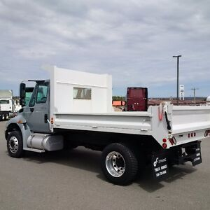 New 2014 International 4300 4x2 with 11' Dump Body