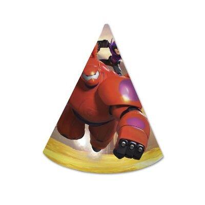 Big Hero 6 BAYMAX riesiges Robowabohu Party Hut Kindergeburtstag Deko ()