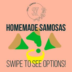 Home made spring/samosas