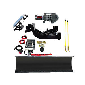 Complete Eagle Snow Plow Kit 2010 2011 2012 2013 Kawasaki Mule 610 Series
