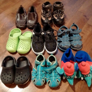 b6174b04c831d3 Lot of boys shoes (8 pairs size 7-10) including Keen   Pony