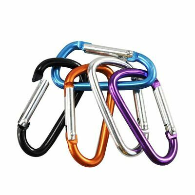 Carabiner Outdoor Climbing Hook For Keys Bottle Keychain Camping Aluminum Clip 3 - Carabiner For Keys
