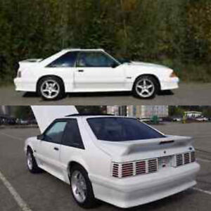 1991 Ford Mustang GT fox body. Prince George British Columbia image 2